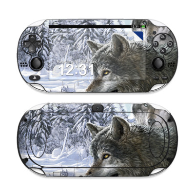 Sony PS Vita Skin - Snow Wolves