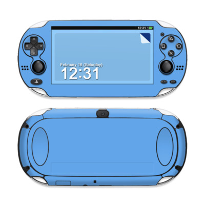 Sony PS Vita Skin - Solid State Blue