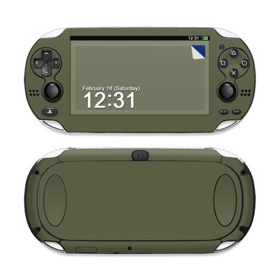 Sony PS Vita Skin - Solid State Olive Drab
