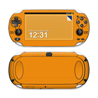 Sony PS Vita Skin - Solid State Orange