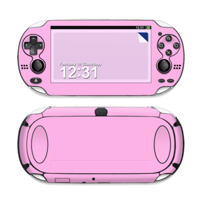 Sony PS Vita Skin - Solid State Pink