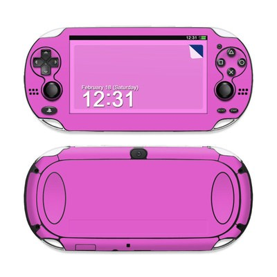 Sony PS Vita Skin - Solid State Vibrant Pink