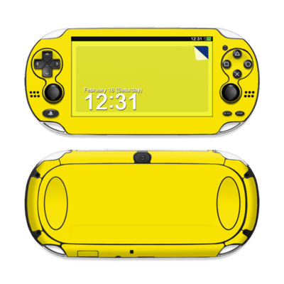 Sony PS Vita Skin - Solid State Yellow
