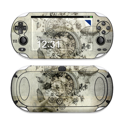 Sony PS Vita Skin - Steamtime