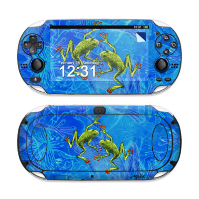 Sony PS Vita Skin - Tiger Frogs