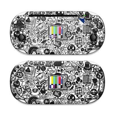 Sony PS Vita Skin - TV Kills Everything