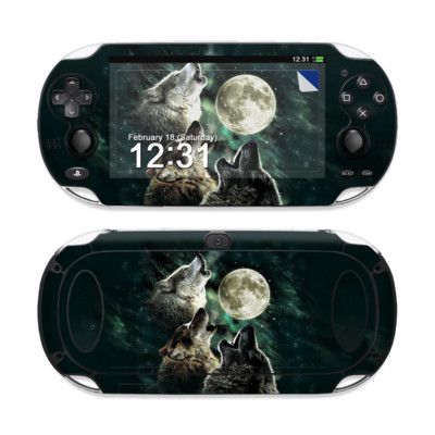 Sony PS Vita Skin - Three Wolf Moon