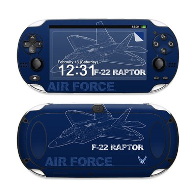 Sony PS Vita Skin - F-22 Raptor