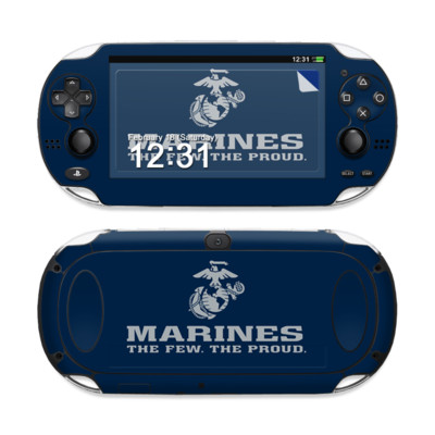 Sony PS Vita Skin - USMC Blue