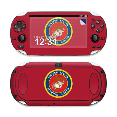 Sony PS Vita Skin - USMC Red