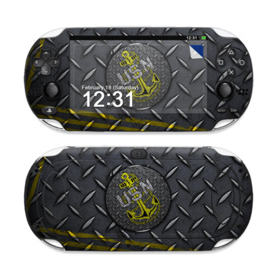 Sony PS Vita Skin - USN Diamond Plate