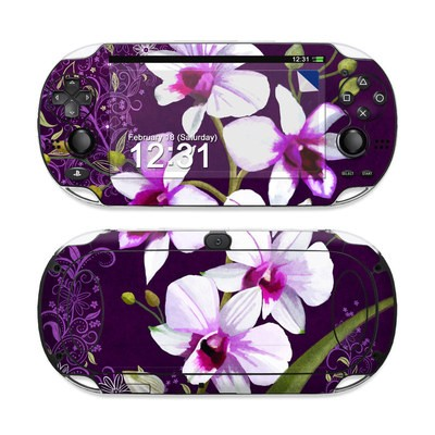 Sony PS Vita Skin - Violet Worlds
