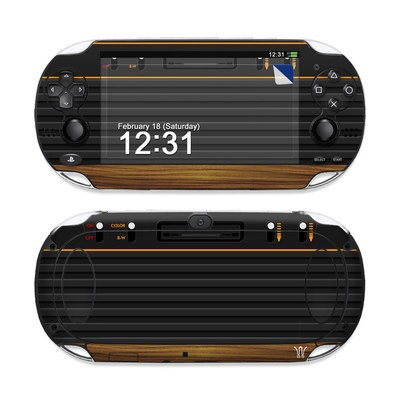 Sony PS Vita Skin - Wooden Gaming System