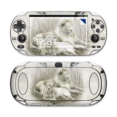 Sony PS Vita Skin - White Lion