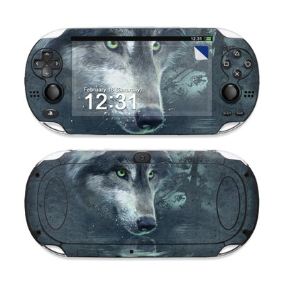 Sony PS Vita Skin - Wolf Reflection