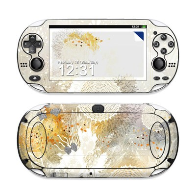 Sony PS Vita Skin - White Velvet