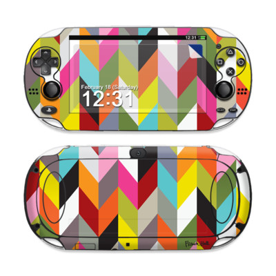 Sony PS Vita Skin - Ziggy Condensed