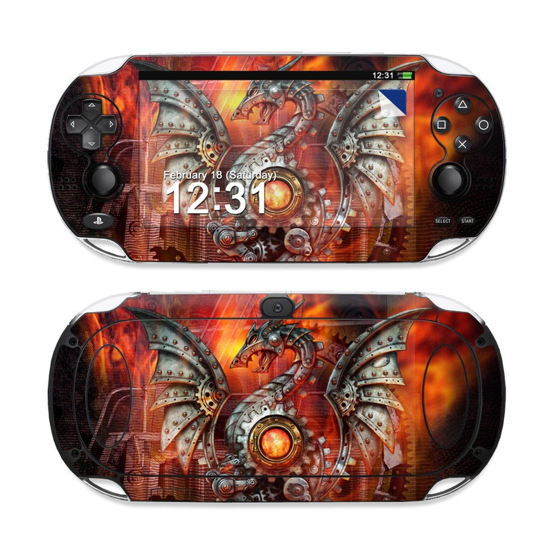 Vita Wallpapers: Furnace Dragon By Alchemy Gothic