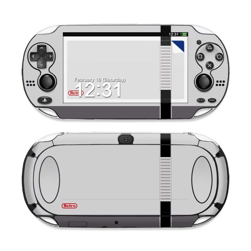 Sony Ps Vita Skin Retro Horizontal By Retro Decalgirl