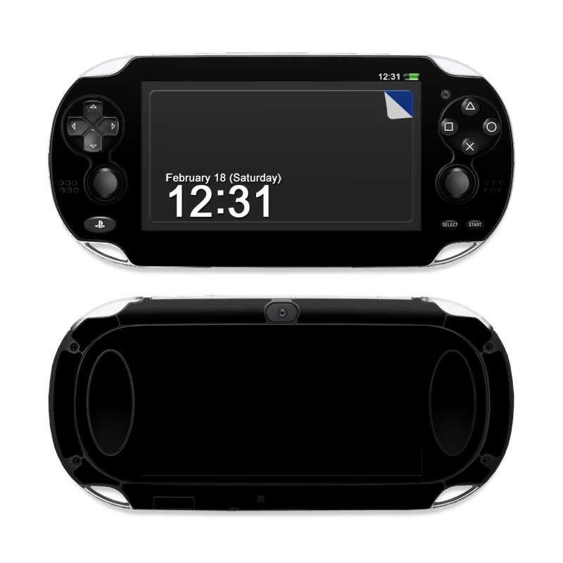 Sony Ps Vita Skin Solid State Black By Decalgirl