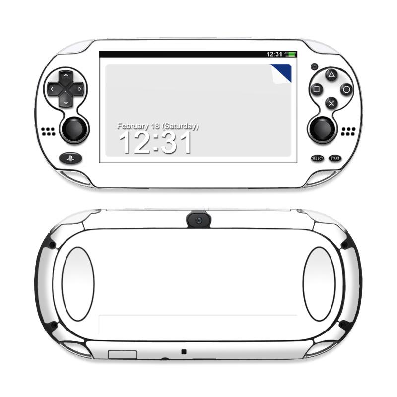 Sony Ps Vita Skin Solid State White