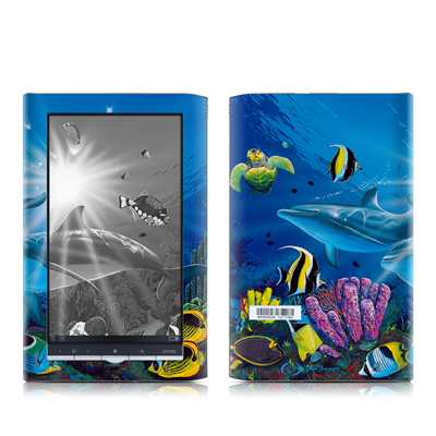 Sony PRS-950 Reader Skin - Ocean Friends
