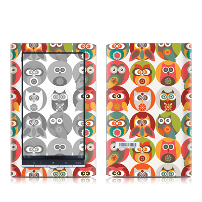 Sony PRS-950 Reader Skin - Owls Family