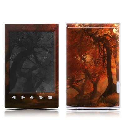 Sony Reader PRS-T2 Skin - Canopy Creek Autumn