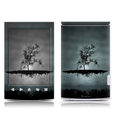 Sony Reader PRS-T2 Skin - Flying Tree Black