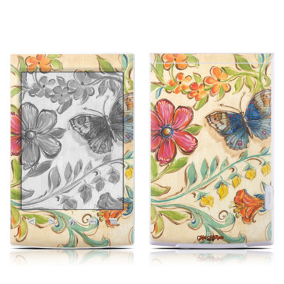 Sony Reader PRS-T2 Skin - Garden Scroll