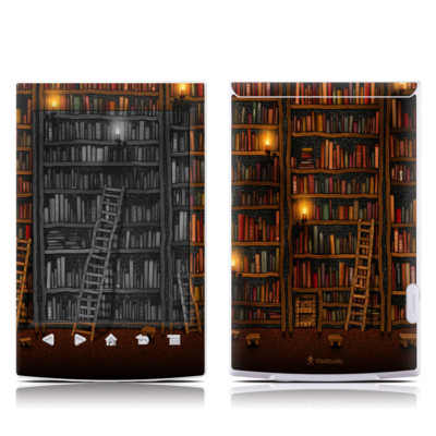 Sony Reader PRS-T2 Skin - Library