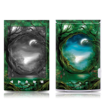 Sony Reader PRS-T2 Skin - Moon Tree