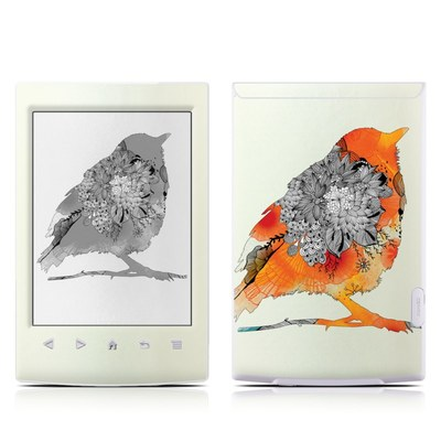 Sony Reader PRS-T2 Skin - Orange Bird