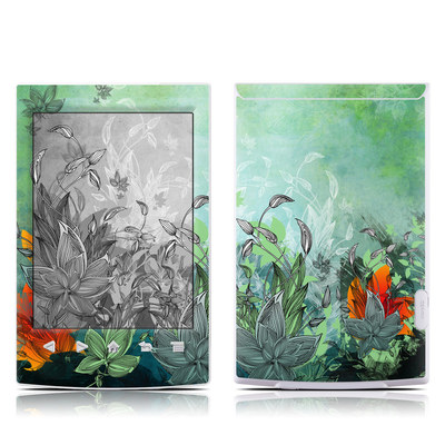 Sony Reader PRS-T2 Skin - Sea Flora