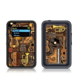 SanDisk Sansa Clip Plus Skin - Music Elements