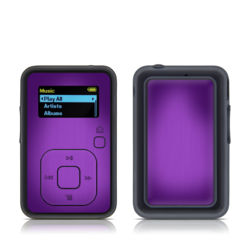 SanDisk Sansa Clip Plus Skin - Purple Burst