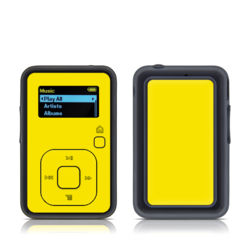 SanDisk Sansa Clip Plus Skin - Solid State Yellow