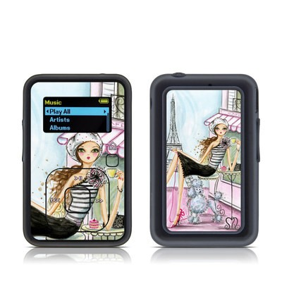 SanDisk Sansa Clip Plus Skin - Cafe Paris