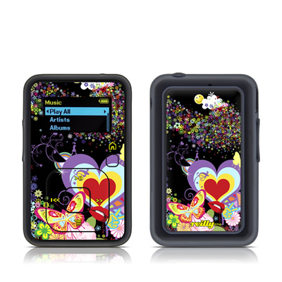 SanDisk Sansa Clip Plus Skin - Flower Cloud
