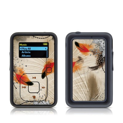 SanDisk Sansa Clip Plus Skin - Feather Dance