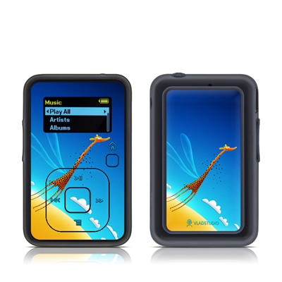 SanDisk Sansa Clip Plus Skin - Learn to Fly