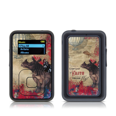 SanDisk Sansa Clip Plus Skin - Leap Of Faith