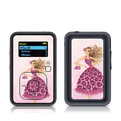 SanDisk Sansa Clip Plus Skin - Perfectly Pink