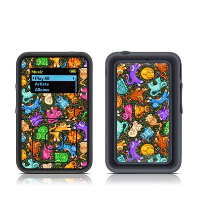 SanDisk Sansa Clip Plus Skin - Sew Catty