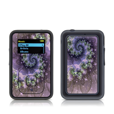 SanDisk Sansa Clip Plus Skin - Turbulent Dreams