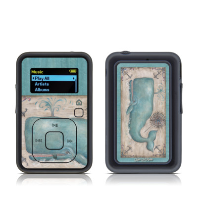 SanDisk Sansa Clip Plus Skin - Whale Watch