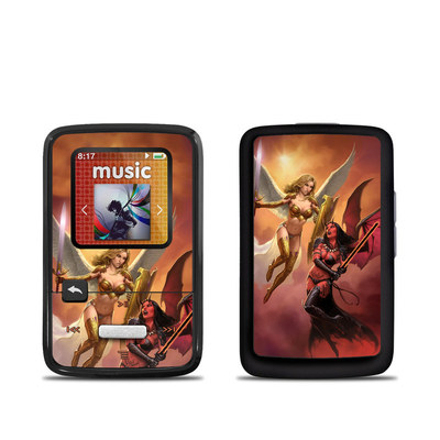 SanDisk Sansa Clip Zip Skin - Angel vs Demon