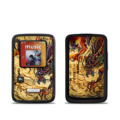 SanDisk Sansa Clip Zip Skin - Dragon Legend