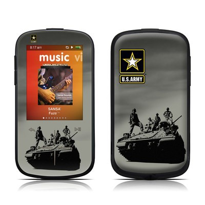 SanDisk Sansa Fuze Plus Skin - Army Troop