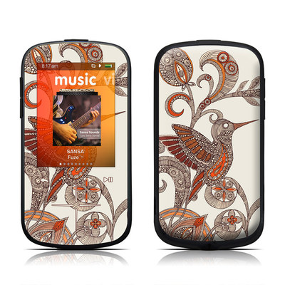 SanDisk Sansa Fuze Plus Skin - You Inspire Me